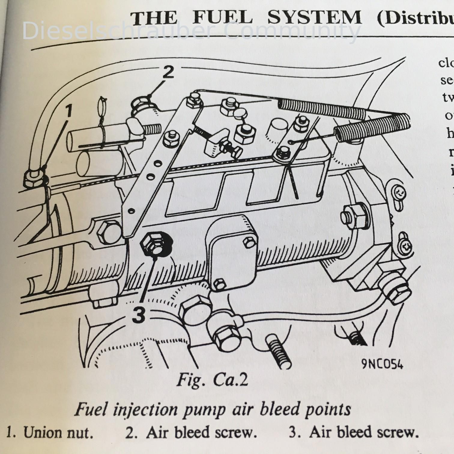 Entl 252 Ftung Lucas Cav Einspritzpumpe Dieselschrauber Community