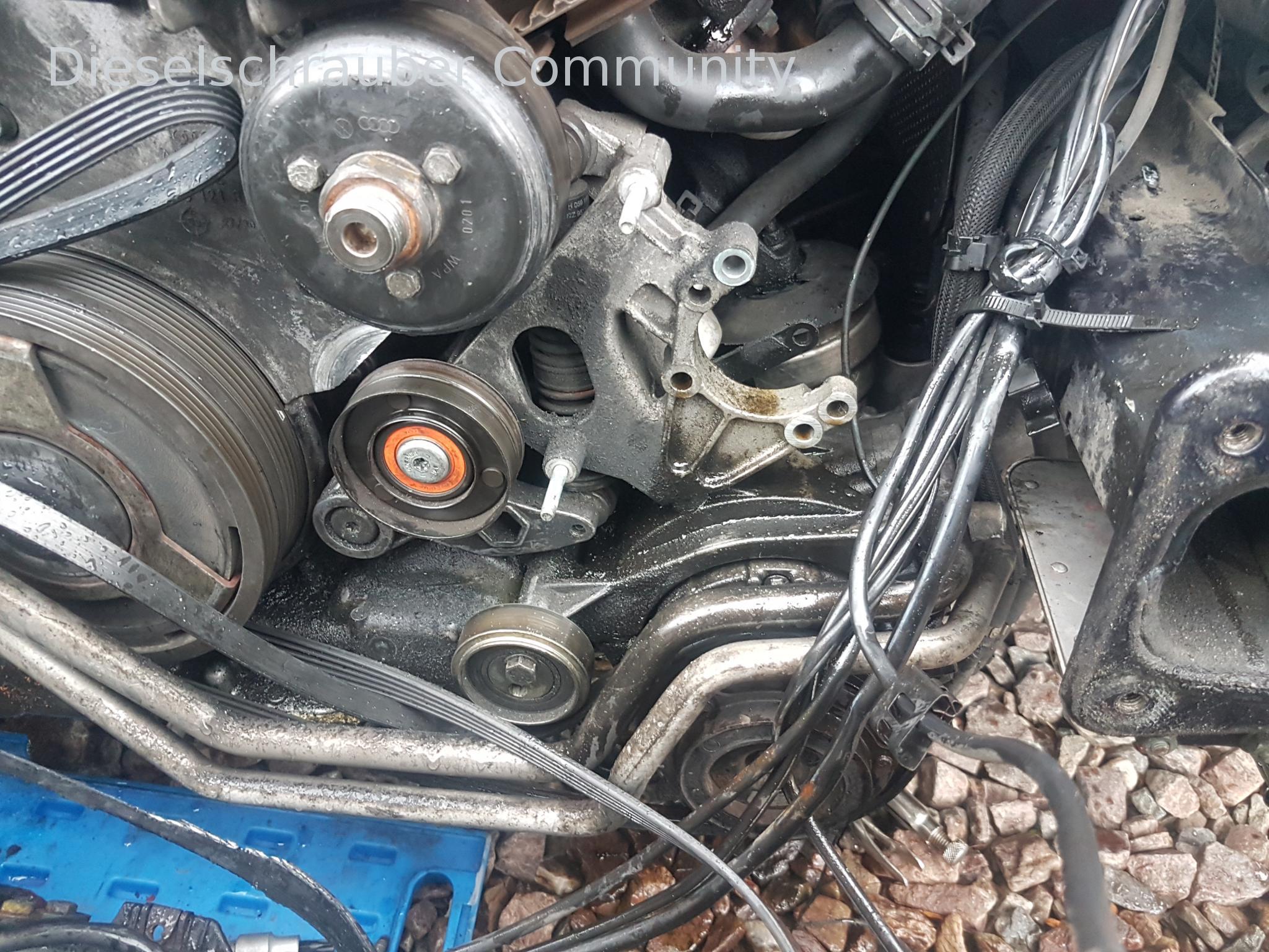 Audi A6 4b 2 5tdi Riemenspanner Schwingungsd 228 Mpfer