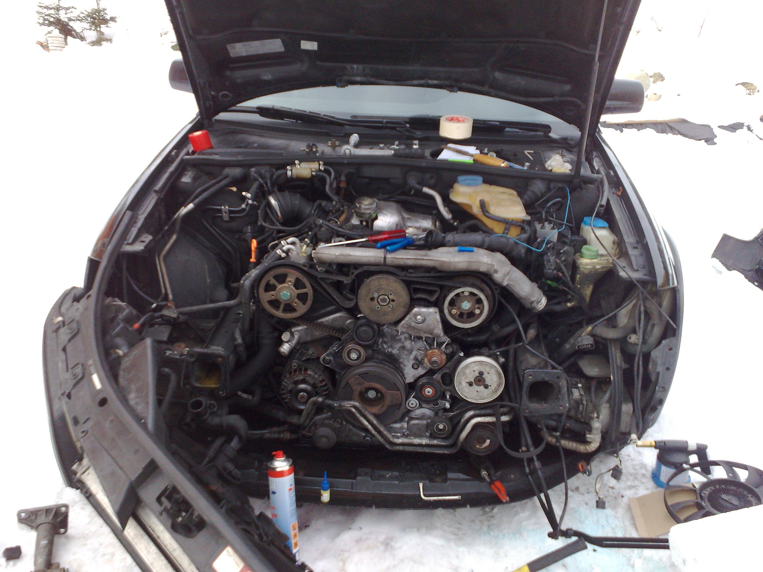 2 5 V6 Tdi Schraube Keilriemenspanner Abgerissen